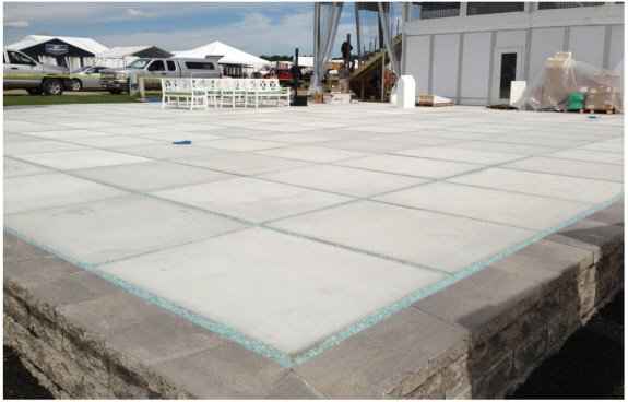 Avionics leader Honeywell installed a matrix of 200 AmeriCast precast generator pads to showcase planes and equipment at AirVenture, the World's Largest Aviation Celebration, held in Oshkosh, Wisconsin, July 29 – August 4th, 2013.
