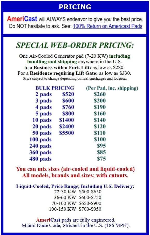Pricing Block